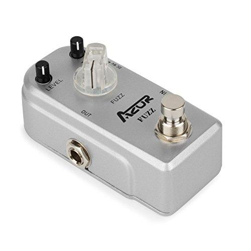 Fuzz Guitar Pedal (AZOR Fuzz Guitar Effect Pedal Aluminium-alloy case)