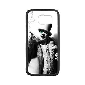 The Penguin Batman Arkham City Game Samsung Galaxy S6 Cell Phone Case Black yyfabb-106231