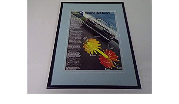 1979 Porsche Audi 924 Turbo Framed 11x14 ORIGINAL Advertisement at Amazons Sports Collectibles Store