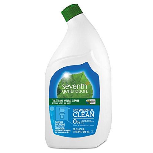 Seventh Generation 44727CT Natural Toilet Bowl Cleaner, Emerald Cypress & Fir, 32 oz Bottle (Case of 8)