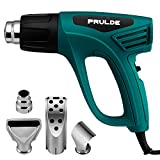 Tools & Hardware : Heat Gun Dual Temperature Settings, NEU MASTER(PRULDE)N2190 1500W Hot Air Gun 800°F - 1112°F, Overload Protection with 4 Nozzle Attachments for Shrink Wrapping/Tubing, Paint Removal