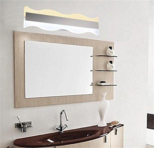 DIDIDD Lámpara de pared lámpara de pared de espejo moderno lámpara de pared de dormitorio minimalista lámpara de pared...