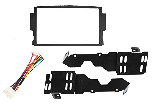 (New! Aftermarket Radio Installation Double Din Dash Kit Fits Acura TL 2004-2008)