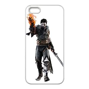 dragon age ii iPhone 5 5s Cell Phone Case White xlb2-038203