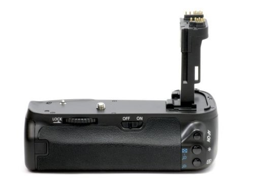 Meike Profi Batteriegriff für Canon EOS 6D - ähnlich wie BG-E13 - für 2x LP-E6 und 6x AA Batterien