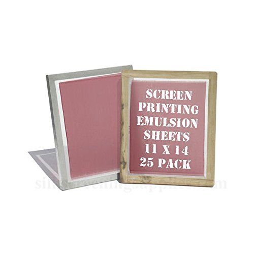 Yudu Style Emulsion Sheets 11x14 (25 Pack) Emulsion Film (SHIPS FROM USA)