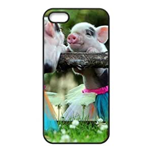 Cool Painting Pig New Fashion DIY Phone Case for Iphone 5,5S,customized cover case case698061
