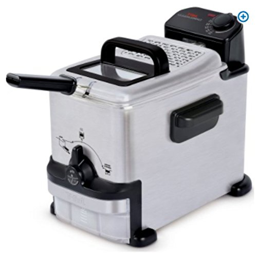 T-fal, FR702D51, EZ Clean Deep Fryer 1.8 L , Stainless Steel