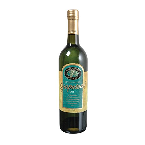 Napa Valley Naturals Grapeseed Oil - High in Vitamin E - Kosher - Case of 12 - 25.4 Fl - In Valley Shopping Napa