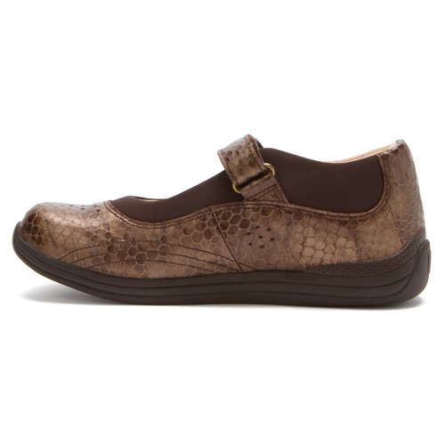 Womens Scarpe Drew Rose Mary Jane Stampa Di Bronzo