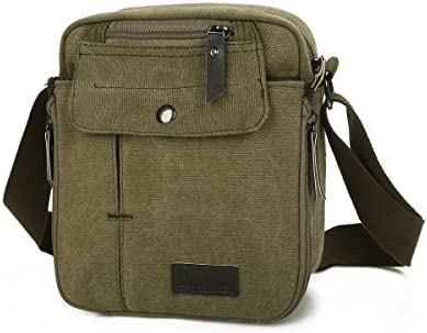 1a352e563f7 Harwish Casual Canvas Backpack Crossbody Sling Bag Shoulder Bag Chest Bag  For Men (ArmyGreen)