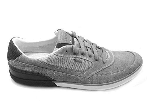 Geox - Zapatillas para hombre multicolor Grey/Navy