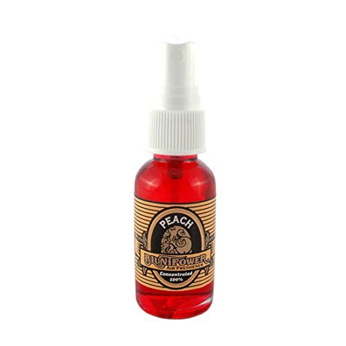 - BluntPower 1 Ounce Glass Bottle Oil Based Concentrated Air Freshener and Oil for Burner, Peach