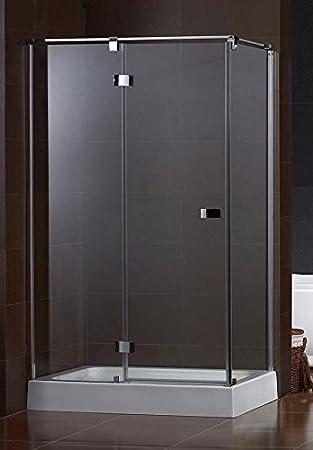 Galdem Duschabtrennung Luxury 8 Mm Duschkabine Dusche Echtglas  Sicherheitsglas Anti Kalk  U0026 Anti