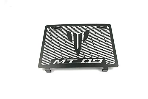 - Motorcycle Aluminum Radiator Grille Guard Protection Cover For YAMAHA MT09 MT-09