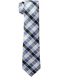 Haggar mens big-tall Grid Extra Long Tie