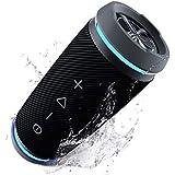 TREBLAB HD77 Revolutionary Bluetooth Speaker - Loud 360° HD Surround Sound, Wireless Dual Pairing, 25W Powerful Bass, 20H Battery, Best for Outdoor Sports - True IPX6 Waterproof, Cordless Blue Tooth