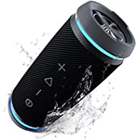 TREBLAB HD77 Premium Bluetooth Speaker - Loud 360° HD...