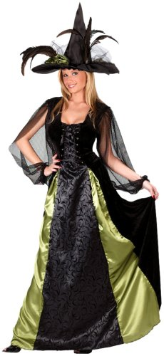 FunWorld Women's Goth Maiden Witch Costume