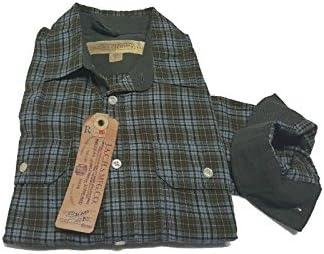 J.A.C.H.S MFG.CO Camisa Hombre Franela Cuadros Verde 100% algodón Todo Slim Quadri Verde Large: Amazon.es: Ropa y accesorios