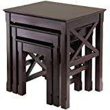 Winsome Wood Xola 3pc Nesting Table