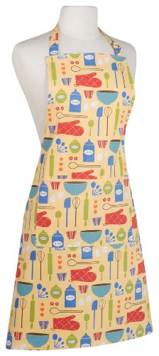 Kitchen Style by Now Designs Basic Apron, Measure and Mix