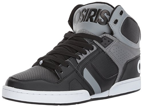 Osiris Men's NYC 83 Skate Shoe, Black/Grey/Grey, 10.5 M US