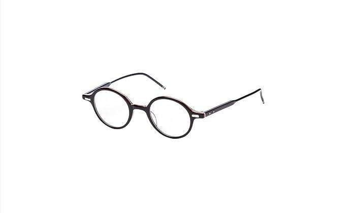 468c930ba5 THOM BROWNE TB 407 A-BLK Black RWB Eyeglasses at Amazon Men s ...