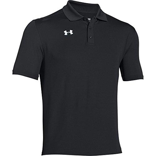 Under Armour Team Armour Men's Golf Polo (Black, Large) ()