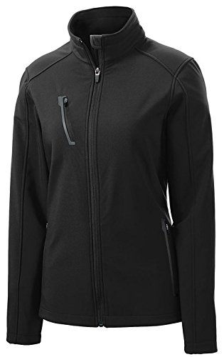 Port Authority Women's Welded Soft Shell Jacket_Black_Medium