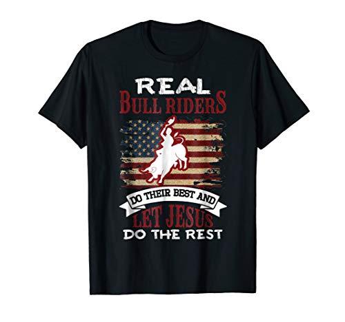 (Christian Bull Riding T-Shirt Bull Rider Shirts)
