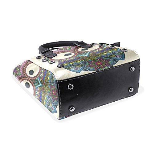 COOSUN - Bolso de asas para mujer multicolor Multicolor M