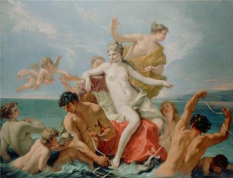 Luke Skywalker Costume Tutorial ('Triumph Of The Marine Venus, About 1713 By Sebastiano Ricci' Oil Painting, 12x16 Inch / 30x40 Cm ,printed On Perfect Effect Canvas ,this High Resolution Art Decorative Canvas Prints Is Perfectly Suitalbe For Basement Artwork And Home Decoration And Gifts)
