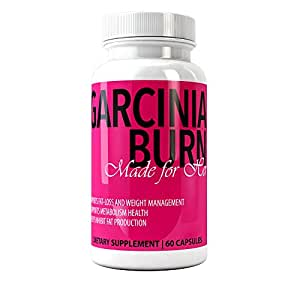 Garcinia Cambogia 100% Pure Extract Garcinia Burn with HCA - Extra Strength Weight Loss Pills, Premium Diet Pills, All Natural Appetite Suppressant, Weight Loss and Fat Loss Supplement Made for Her