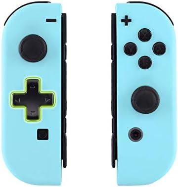 eXtremeRate Carcasa Joy-con Botones Completos D-Pad para Nintendo Switch Funda de Agarre Reemplazable Tacto Suave Shell para Nintendo Switch No Incluye la Carcasa de la Consola (Cielo Azul): Amazon.es: Electrónica