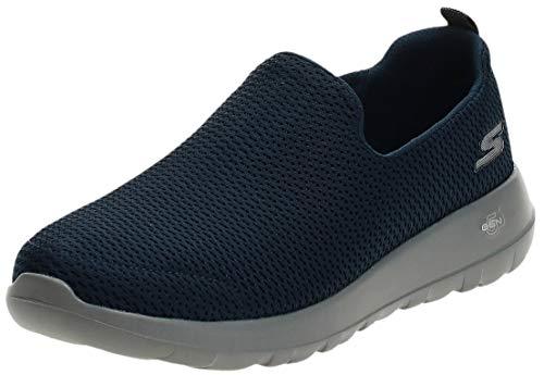 Skechers Men's Go Walk Max-Athletic Air Mesh Slip on Walkking Shoe Sneaker,Navy/Gray,10 M US