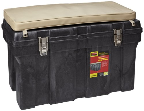 Rubbermaid Commercial Tack Box, 36'', Black, FG772000BLA by Rubbermaid Commercial Products (Image #1)