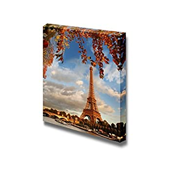 Made For You, Unbelievable Work of Art, Eiffel Tower in Autumn Paris France Wall Decor