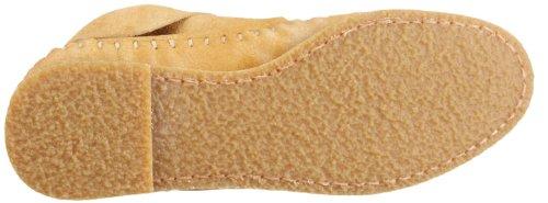 mujer cw Zuecos para de nobuck 036 Cowa zapato Beige cuero 1qw8v