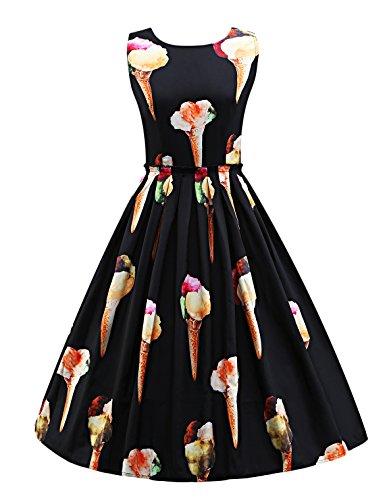 Abendkleider Damen Festliches Elegant 50Er Jahre Kleid Vintage ...