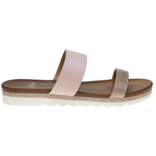 Sole Amabel Damen Sandalen Pink