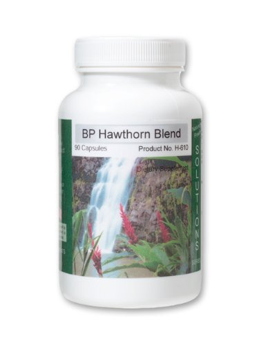 Blood Pressure Supplement, Bp Hawthorn, Natural Blood Pressure Supplement, with Ginseng, Garlic, and Cayenne ()