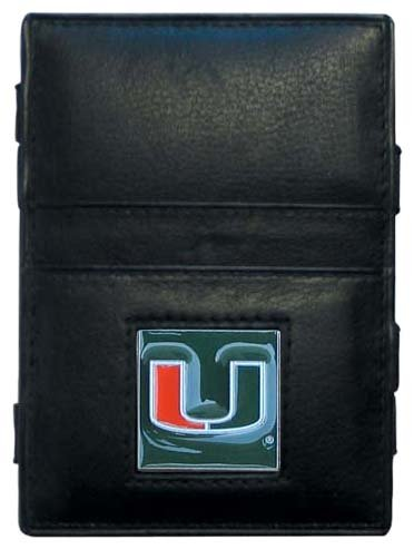 NCAA Miami Hurricanes Leather Jacob's Ladder (Miami Hurricanes Leather Football)