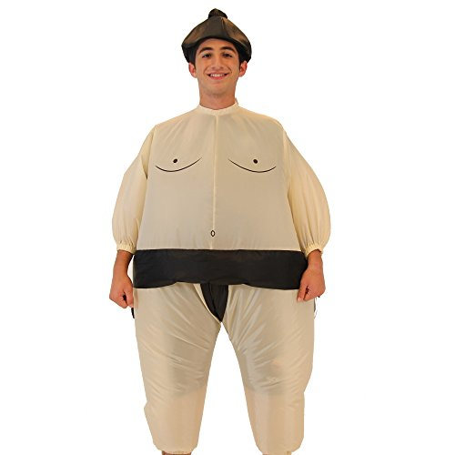 Sumo Wrestling Wrestler Inflatable Chub Suit Costume (Teen) ()