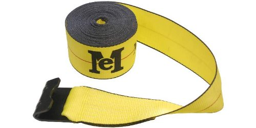 10 4''x27' Winch Strap with Flat Hooks