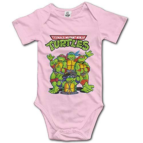 Teenage Mutant Ninja Turtles Unisex Short Sleeve Set for Baby Pink]()