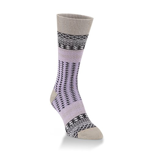 World's Softest Women's Knit Pickin' Candy Crew Socks One Size Fits Most (Harvest Moon)