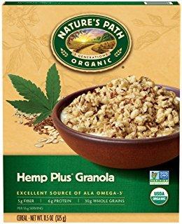 Nature's Path Organic Hemp Plus Granola 11 oz (Pack of 4)