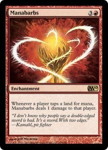 (Magic: the Gathering - Manabarbs - Magic 2010)