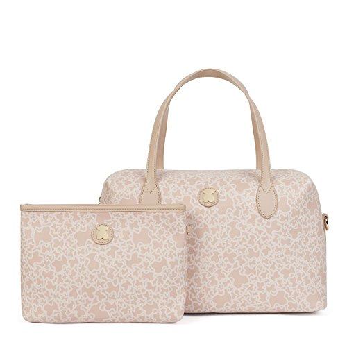 Tous Mediano Kaos Mini, Borsa Bowling Donna, 13x20x35 cm (W x H x L) Rosa (Pink)